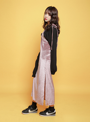 글램벨벳 스트랩 원 슬릿 OPS9월 9일부터 순차 배송가능!!